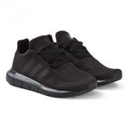 adidas Originals Swift Run Sneakers Svart Barnskor 31 (UK 12.5)