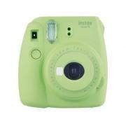 Fujifilm Kit Máquina Fotográfica Instantánea FUJIFILM Instax Mini 9 + 10 películas (Lime Green - Obturación: 1/60 s - 2x Pilas AA - 62x46mm)