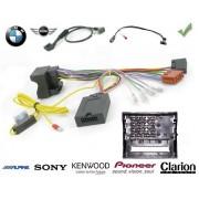 COMMANDE VOLANT BMW SERIE 1 2004- (E87) - Pour Sony FAKRA SANS NAV AVEC RADARS RECUL