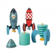 ThreadBear Design - Rubber Wood Rocket Construction Set