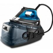 Statie de calcat cu abur Rowenta Silence Steam Pro DG9226F0 Talpa Microsteam 400 HD Laser 1.3 L 2800 W 490 g/min Negru Albastru