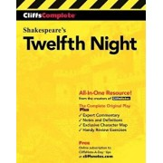 Cliffscomplete Twelfth Night, Paperback/William Shakespeare