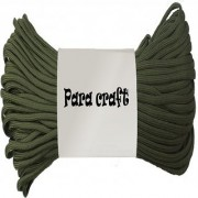 250ft 550 Cord Paracord Parachute Survival Cord - Miltitary Green