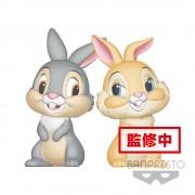 Banpresto Disney Fluffy Puffy Mini Figures 2-Pack Thumper & Miss Bunny 8 cm