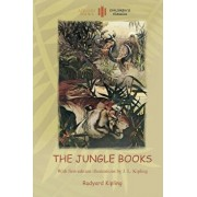 The Jungle Books: With Over 55 Original Paintings and Illustrations (Aziloth Books), Paperback/Rudyard Kipling