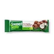 Ciocolata lapte cocos&quinoa indulcitor stevie 25gr sweet&safe 25gr SLY NUTRITIA
