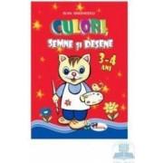 Culori semne si desene 3-4 ani - Silvia Draghicescu