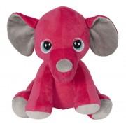 Jucarie de plus Elefant roz, 23 cm