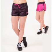 Gorilla Wear Madison Reversible Shorts - Zwart/ Roze - M