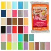 Cake Supplies Fondant de colores de 250 g - FunCakes - Color Verde botánico