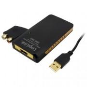 USB naar HDMI converter met audio Logilink