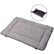 vidaXL Dog Bed Grey 65x80 cm