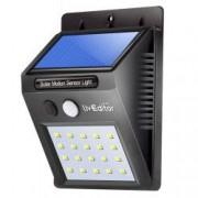 Lampa de exterior LED incarcare solara si senzor de miscare 20 x LED