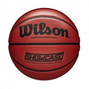 Minge baschet Wilson Showcase Composite Leather, marime 7, portocaliu