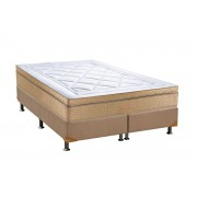 Conjunto Box-ColchãoOrthocrin Bellagio+Cama - Queen 158