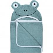 Bubaba ručnik s kapuljačom žaba 110x75 cm