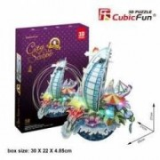Puzzle 3D cu LED - Cityscape New York