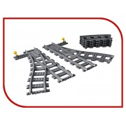 Lego Конструктор Lego City Дополнительные элементы для поезда 8 дет. 60238