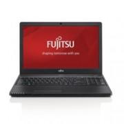 """Лаптоп Fujitsu Lifebook A357 (FUJ-NOT-A357HD-i3), двуядрен Skylake Intel Core i3-6006U 2.00 GHz, 15.6"""" (39.62 cm) HD Glare Display, (HDMI/VGA), 4GB DDR4, 500GB HDD, 3x USB 3.1, Free DOS, 2,2 kg"""