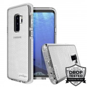 Prodigee SuperStar Case - хибриден кейс с висока степен на защита за Samsung Galaxy S9 Plus (сребрист)