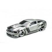 XTR Toys Hot Shop Silver Radio Control R/C Ford Mustang Models Car Vehicle Hobby Full Function Electric 1:24 Scale Ready to Run RTR 49MHz by