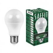 Лампа светодиодная Saffit SBA6015 A60 15W E27 6400K 55012