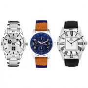 ADAMO Designer Men's Combo Analog Watch 109-120-90BL02
