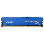HYPERX Memoria RAM KINGSTON 8 GB DDR3 HyperX Fury Azul