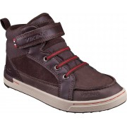Viking Moss MID Sneaker, Dark Brown/Red 29