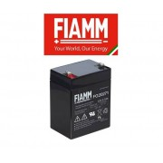 FIAMM Batteria Al Piombo 12v 2,7 Ah Tampone Accumulatore Ricaricabile Ciclica Faston 4,8 Mm Alta Affidabilita'