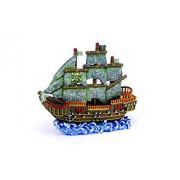 Petland 030172062360 Decoración para Acuario, Diseño Pirate Wave Runner