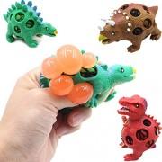 GAZEPO Dinosaur Stress Squeeze EVA Toy Cartoon Dinosaurs Vent Ball Toy Color Random