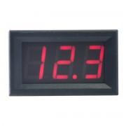 Voltmeter Červený 4.5V-30V