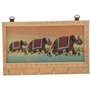 Add To Your Home Decor With This Beautiful Handcrafted Wooden gamstone painting key holders. Great Gift For Your Loved O
