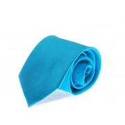 Suitable Stropdas Zijde Turquoise Uni F24