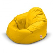 Ink Craft yellow Hi-Back Gamer Bean Bag Chair Cover Only - XXL