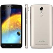 Celular Mejor Smartphone Libre HOMTOM HT17 3G Android 6.0 8GB Quad Core Dorado EU Plug