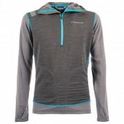 La Sportiva - Ulysses Hoody - T-shirt technique taille M, gris/noir