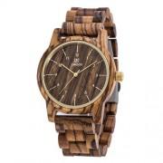 Luxusné drevené hodinky pre nárocných