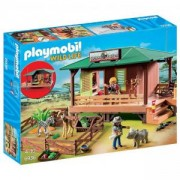 Комплект Плеймобил 6936 - Рейнджърска база с кът за животни, Playmobil, 2900165