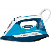 Fier de calcat Bosch Sensixx'x DA30 TDA3028210, Ceranium-Glissee, 2800W, Alb/albastru