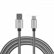 Cable de datos de carga USB tipo-c para xiaomi mi5 / oneplus 3T / oneplus 5T / oneplus 5 - blanco (100CM)