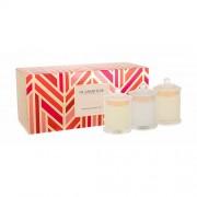 Glasshouse Christmas Collection vonná svíčka dárková sada U - svíčka Night Before Christmas 60 g + svíčka White Christmas 60 g + svíčka Christmas Party 60 g