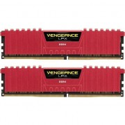 Memorie Corsair Vengeance LPX 16GB (2x8GB) DIMM, DDR4, 3000MHz, CL15, 1.35V, XMP 2.0, Red