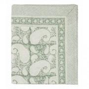 Tablecloth - big paisley - sea foam