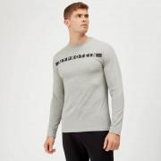 Myprotein Original tričko s dlouhým rukávem - L - Šedá Marl