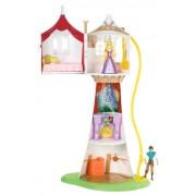 Mattel Disney Princess Rapunzel Tower With Flynn Playset