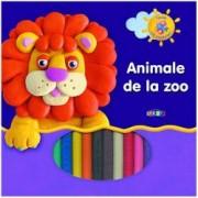 Invat sa modelez. Animale de la Zoo plastilina
