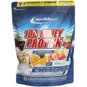 ironMaxx 100% Whey Protein Sacchetto da 500g - Arancia/Maracuja