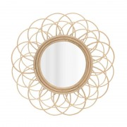 Oglinda din lemn de ratan Sun